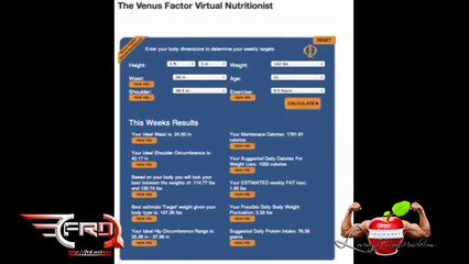How To Use Venus Factor Virtual Nutritionist