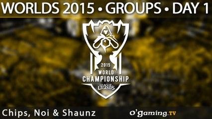 Preshow - World Championship 2015 - Phase de groupes - 01/10/15