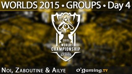 Preshow - World Championship 2015 - Phase de groupes - 04/10/15