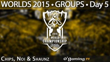 Preshow - World Championship 2015 - Phase de groupes - 08/10/15