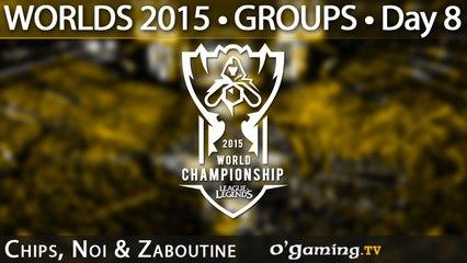 Preshow - World Championship 2015 - Phase de groupes - 11/10/15