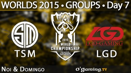 Team SoloMid vs LGD Gaming - World Championship 2015 - Phase de groupes - 10/10/15 Game 6