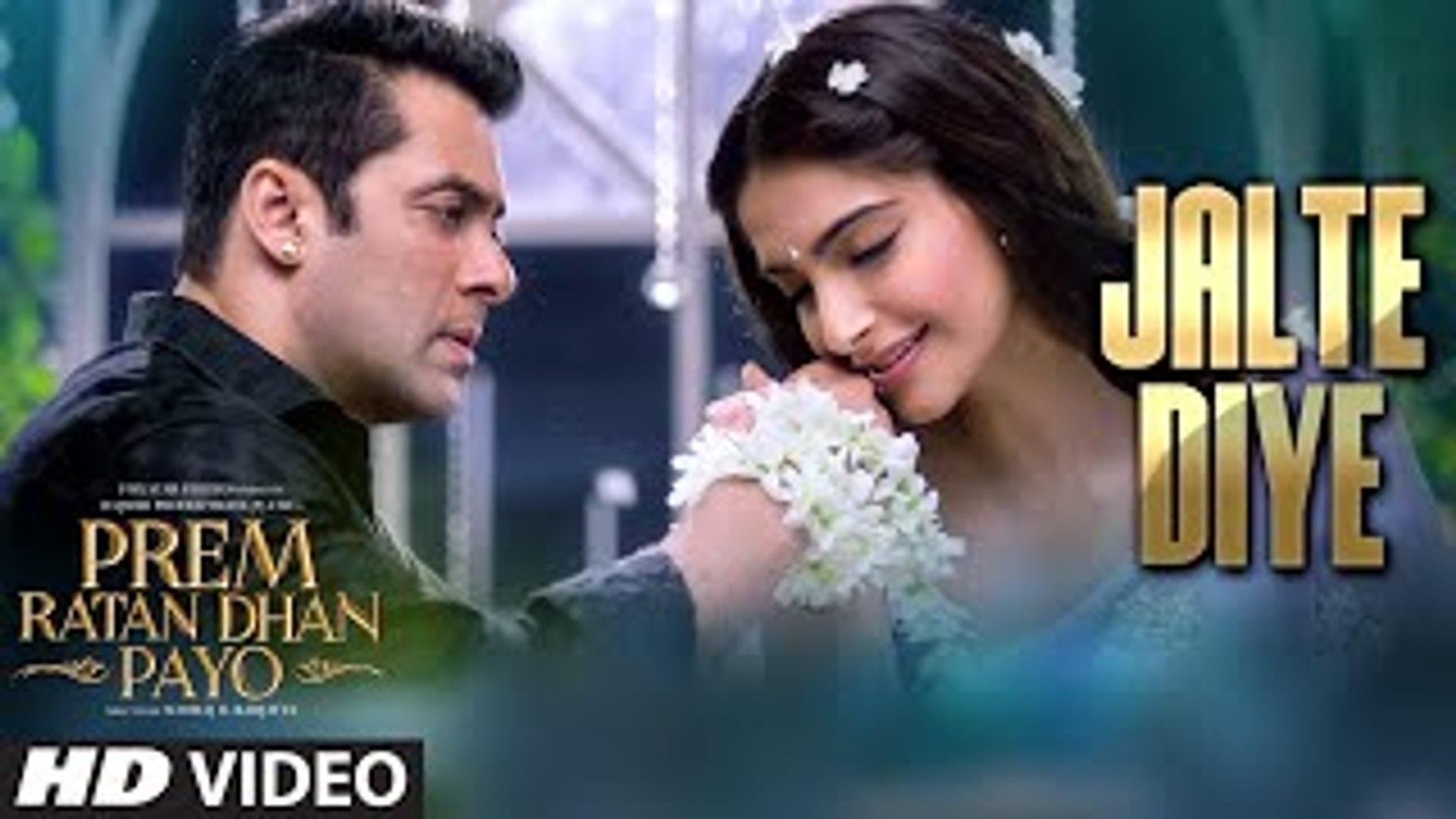 Jalte Diye Full Hd Song Prem Ratan Dhan Payo Salman Khan Sonam Kapoor