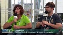 SIG 2015 - Interview des Lauréats du concours des 24H du SIG - Elisa Belmain et Valentin Saysyan