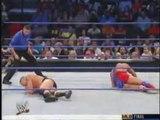 WWE Smackdown - Brock Lesnar vs Kurt Angle (18th September 2003) - WWE Championship