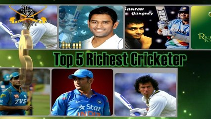 Top 5 Richest Cricketers