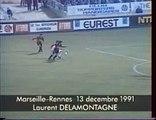 14/12/91 : Marseille - Rennes (5-1) : Laurent Delamontagne (11')