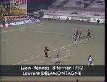 08/02/1992 : Lyon - Rennes (3-1) : Laurent Delamontagne (76')
