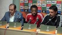 Lokomotiv teknik direktörü: Beşiktaş çok iyi takım, oyun zor geçecek