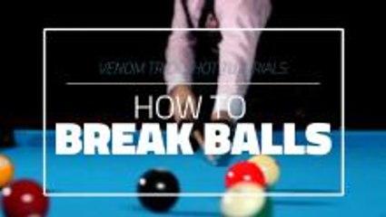 How To Break 8 Ball In Pool