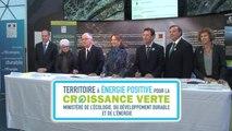 S. Royal reçoit Philippe Martin : des conventions d'appui financier territoires à énergie positive pour le Territoire du GERS !