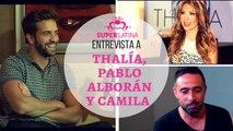 Pablo Alboran, Thalia y Camila en entrevista -Intro- SuperLatina