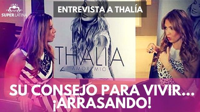 Entrevista a Thalía 1 de 1, Gaby Natale – Superlatina