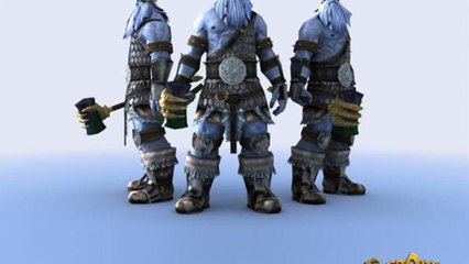 What are the 'ogre' like in the world of Everquest?: EverQuest Races