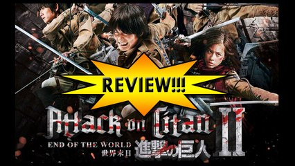 Attack on Titan: End of the World REVIEW!