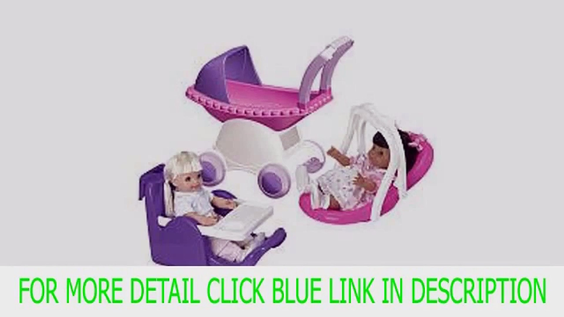 Get American Plastic Toy My Doll 3 Piece Play Set Best