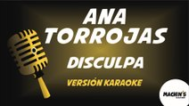 Ana Torroja - Disculpa (Versión Karaoke) (Mecano)