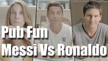 Pub drôle Messi vs Ronaldo vostfr Publicité fun (Rguilanfr)