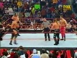 WWF Tag Team Titles Match Stone Cold Steve Austin & Triple H vs Chris Benoit & Chris Jericho 21-05-01