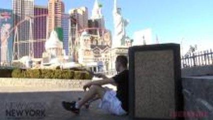 Las Vegas - Tennis Trick Shots on the Strip