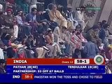 Irfan Pathan slaughters Umar Gul 44444 HQ India v Pakistan 1st ODI at Peshawar 2006