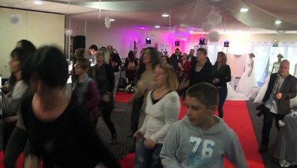 Le flashmob du salon du mariage du chateau de la Motte