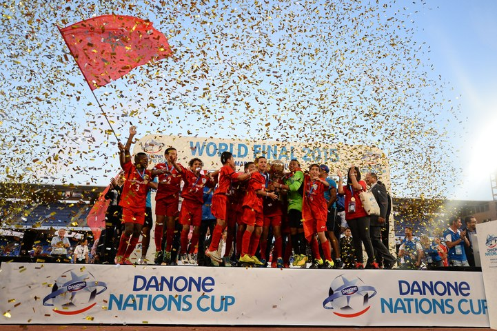 Danone Nations Cup : World Final live on 25th October