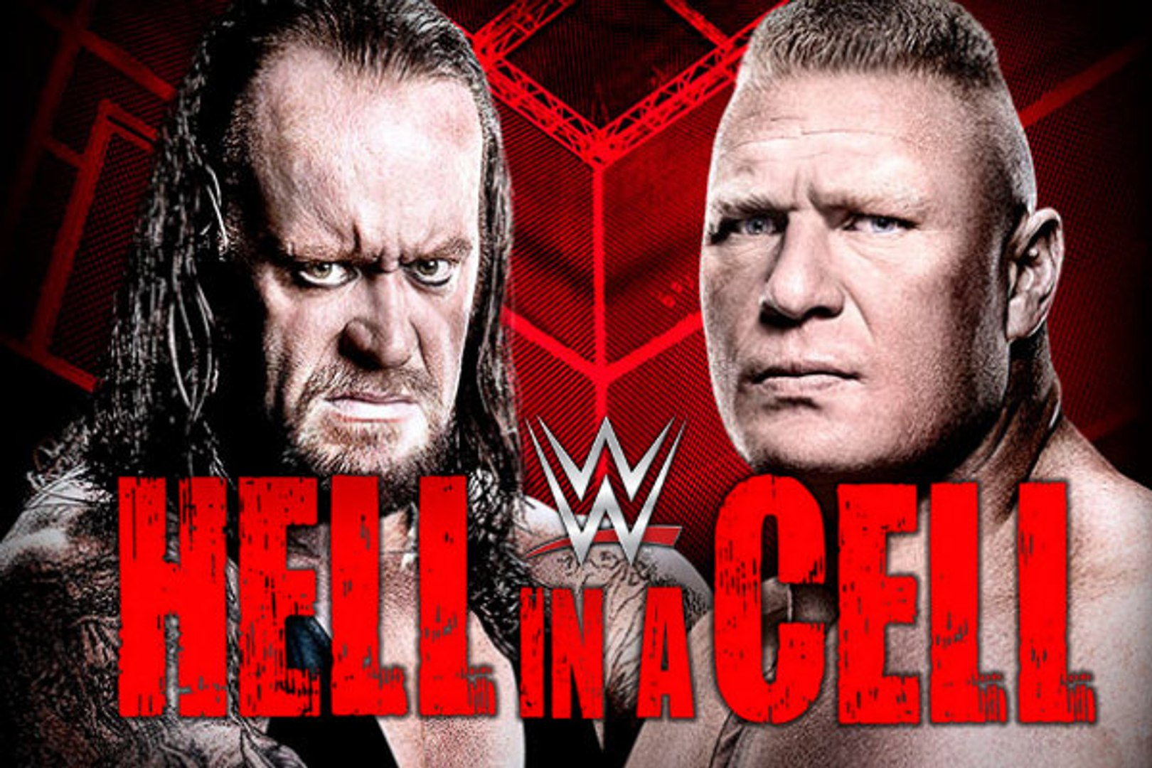 WWE 2015 HELL IN A CELL 2015-Undertaker vs Brock Lesnar Hell In Cell 2015 Match