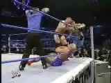 WWE Smackdown - Brock Lesnar and John Cena vs Kurt Angle and The Undertaker (2nd October 2003)