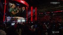 Stephanie McMahon, Triple H, Seth Rollins and Shawn Michaels Backstage Segment