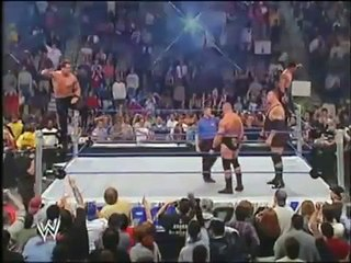 WWE Smackdown - Brock Lesnar and Big Show vs The APA (30th October 2003)