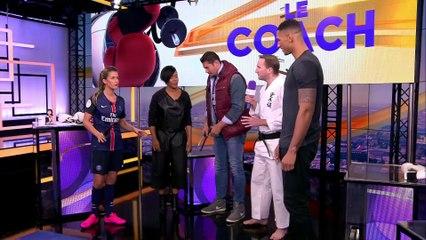 Vincent Parisi sur bien Sports avec la chanteuse Lynnsha .
