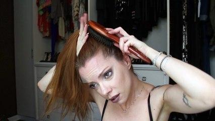 Julia Petit Passo a passo Prada da Inbar - cabelo