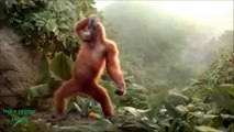 Funny Ape Song. Cartoon Parody. Dance Music Pop Songs. (Dancing Gorilla) Kids Cartoons mov