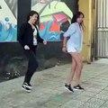Mongolian girls dance