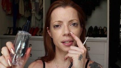 Julia Petit Passo a passo Prada da Inbar - maquiagem
