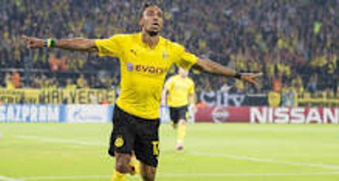 Pierre Aubameyang Hat-Rick Qabala 0-3 Dortmund 22.10.2015