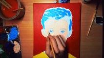 Troye Sivan POP ART (Speed Painting) [YouTube POP ART Wall]
