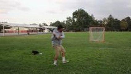 Will it string? Lacrosse Pinnie