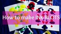 Easy DIY Painting: How to make Ink Blots    Ramsha Momin