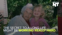 100-Year-Old Lady Works 11 Hours A Day, And Doesn't Plan On Stopping