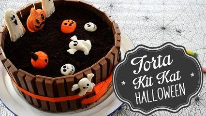 Halloween Cake - Torta | Kit Kat - Oreo | Comamos Casero