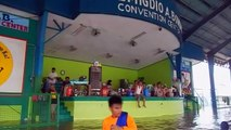 Temporary evacuation centres flooded after Typhoon Koppu