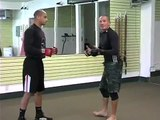 Mixed Martial Arts & Cage Fighting Basics : How to Sprawl in Mixed Martial Arts