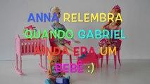 Frozen Anna e Elsa Relembram quando Gabriel ainda era um Bebê!!❤️Em Portugues Disneytopto