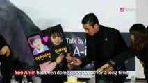 KIND DEEDS OF YOO AH-IN, SHIN MIN-A & OTHER STARS