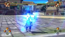 Naruto Shippuden Ultimate Ninja Storm 4 | Neji/Hinata vs Sasuke/Naruto