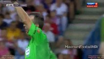 Atletico Madrid vs Real Madrid Diego Simeone Slap vs Referee [23.08.2014]