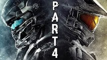 Halo 5 Guardians Walkthrough Gameplay Part 4 - Glassed - Campaign Mission 3 (Xbox One)