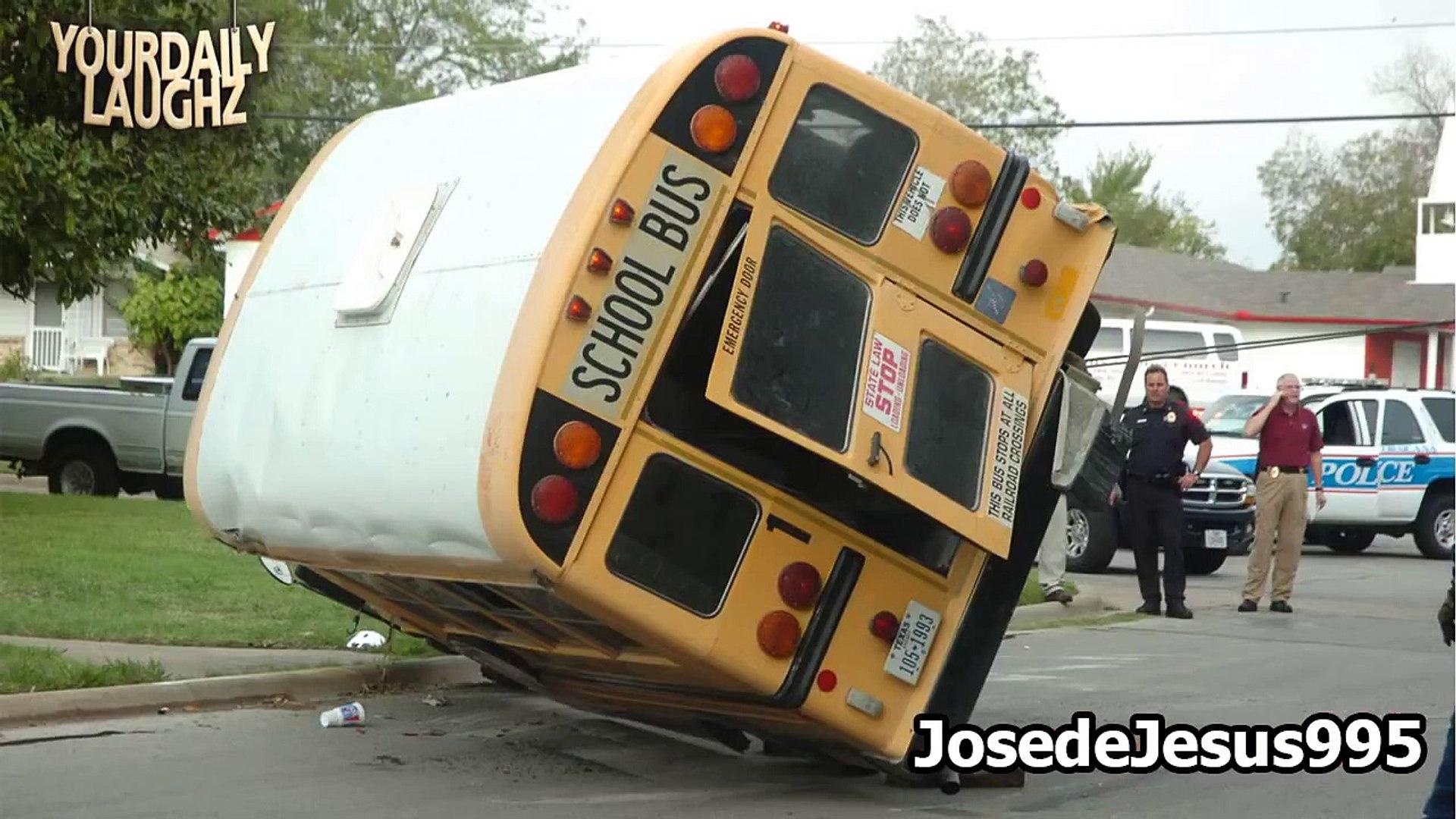 Sorprendentes Accidentes de Autobús 2016 HD Recopilacion: 2
